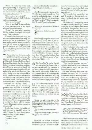 a primer for the punctuation of heart disease the new yorker  10 2002 p 82