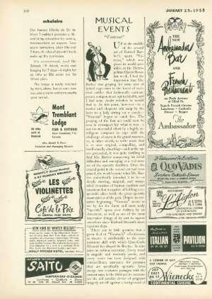 January 25, 1958 P. 108
