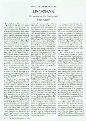 October 29, 2001 P. 50