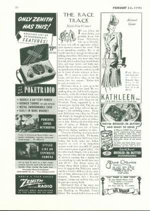 February 22, 1941 P. 70