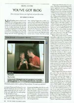 November 13, 2000 P. 102