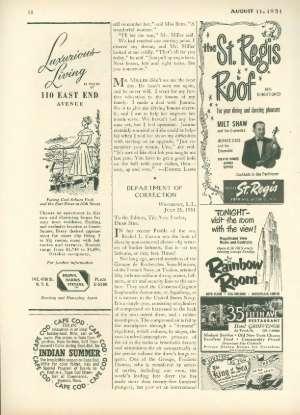 August 11, 1951 P. 58