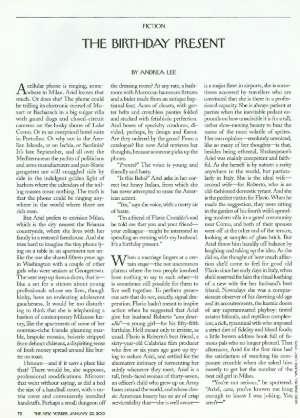 January 22, 2001 P. 72