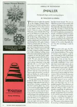 November 26, 2001 P. 74