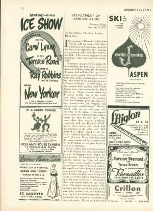 January 13, 1951 P. 72