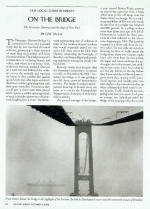 On the Bridge | The New Yorker