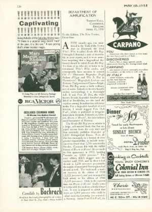 May 10, 1958 P. 126
