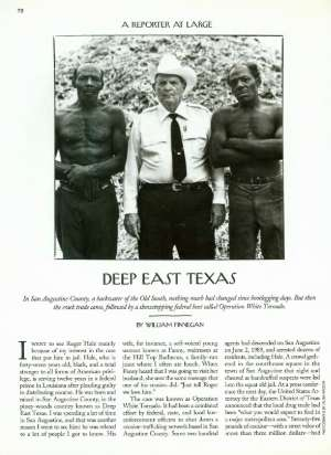 DEEP EAST TEXAS | The New Yorker
