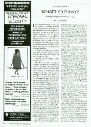 November 11, 2002 P. 78