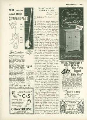 November 1, 1952 P. 118