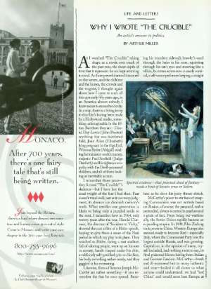 why i wrote the crucible the new yorker why i wrote the crucible by arthur miller acircmiddot 21 1996 p 158