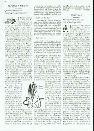 Table talk the new yorker for Spl table 1998 99