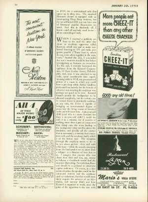 January 30, 1954 P. 85