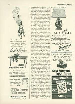 December 3, 1949 P. 142